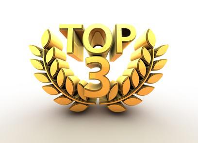 Топ 3 на най-големите компании във всеки един регион