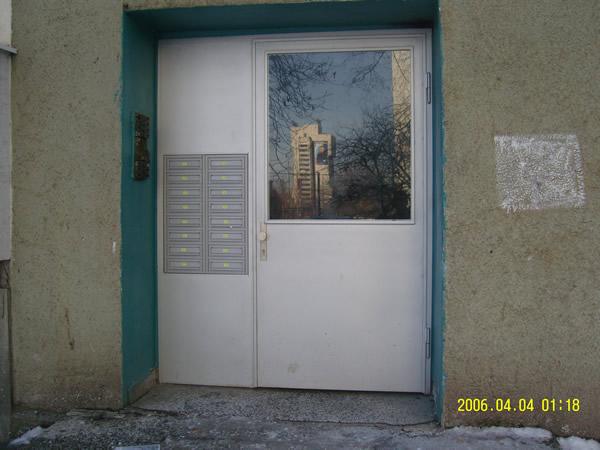 Метални Входни Врати за Входове 3
